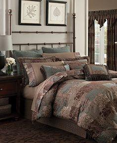 Croscill Bedding, Galleria Brown Collection