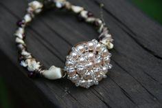 Vintage look bracelet by purpleartlove on Etsy, $20.00
