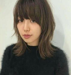 Mullet Haircut, Mullet Hairstyle, Japanese Haircut, Japanese Hairstyle, Medium Hair Cuts, Medium Hair Styles, Short Hair Styles, Wavy Hair Perm, Medium Shag Haircuts