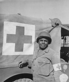 Medic and PFC Warren Capers, 18 August 1944. During the Normandy landing, Capers (along with other members of his medical detachment) a dressing station and gave aid for over 330 soldiers on their beachhead an act which got him a Silver Star recommendation. Whether or not he was awarded said Star is another story.