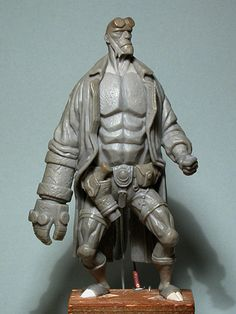 Check out this AMAZING Fan-Made HELLBOY Sculpture!!!!!