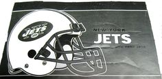 """New York Jets 24 X 36"""" welcome mat"""