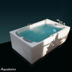 Quoi de mieux qu'un bain à deux pour un instant de relaxation et de plaisir? Cette baignoire balnéo rectangulaire Madeira 190x115 sera votre partenaire idéal pour ces instants privilégiés.  Baignoire balnéo rectangulaire MADEIRA - NVS1 190x115cm - VICTORY SPA : http://www.ma-baignoire-balneo.com/baignoire-balneo-rectangulaire-madeira-nvs1-xml-1081_1132-858.html