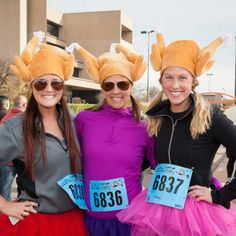 Capital One Bank Dallas YMCA Turkey Trot - Turkey Trot Races on Thanksgiving Day - Shape Magazine