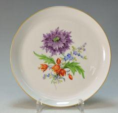 MEISSEN wunderschöner Wandteller große Blumenmalerei -1.Wahl -TOP in Antiquitäten & Kunst, Porzellan & Keramik, Porzellan | eBay
