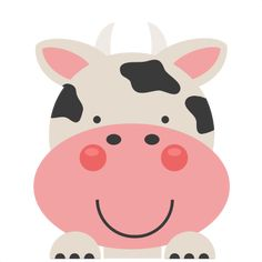 Peeking Cow SVG scrapbook cut file cute clipart files for silhouette cricut pazzles free svgs free svg cuts cute cut files
