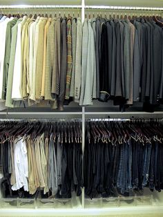 Closet organization with storage tips that are simple, effective and easy to maintain | #Designthusiasm