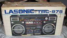 LASONIC TRC-975. Who created the 975?