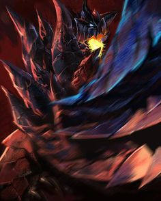Cool Pic of Dinovaldo/Glavenus – Hunter Monster Hunter Games, Monster Hunter Series, Fantasy Armor, Fantasy Weapons, Monster Hunter World Wallpaper, Warriors Pictures, Demon Girl, 2d Art, Hunter X Hunter