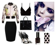 """""""Bomber jacket 2"""" by sandratb on Polyvore featuring Roberto Cavalli, Jacques Vert, T By Alexander Wang, Yves Saint Laurent and Bobbi Brown Cosmetics"""