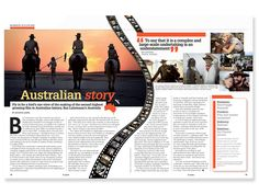 magazine editorial layout - Google Search