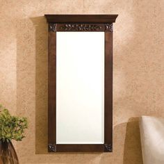 Found it at Wayfair - Cheetham Wall Mount Jewelry Armoire with Mirror