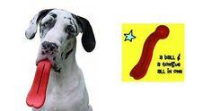 Dog Tongue Toy halarious dog toy. Win it