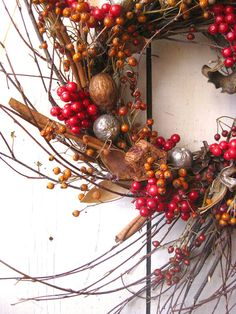 Gifts of the Forest Christmas Wreath