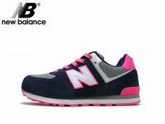 【楽天市場】【日本未発売カラー!!】newbalance/ニューバランス KL574 NKG NAVY / PINK ネイビー /ピンク LADIES / レディース スニーカー NB:Face to Face
