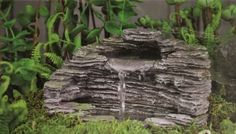 How to Make a Garden Fountain - Tall Clover Farm - DIY
