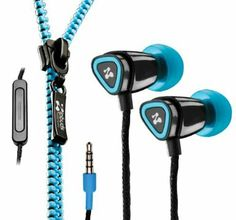 Zipbuds Juiced Mic Remote Tangle Free Zipper Earphones Earbuds New Blue New Gadgets, Cool Gadgets, Teenage Girl Gifts, Ipod Cases, Travel Gifts, Travel Items, Inspirational Gifts, Tangled, Headphones