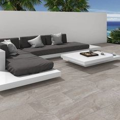 See Direct Tile Warehouse for a great choice of grey floor tiles including the new Nistos Anti Slip Tiles. Free tile samples and free delivery available Large Floor Tiles, Modern Floor Tiles, Grey Floor Tiles, Wood Tile Floors, Grey Flooring, Ceramic Floor Tiles, Porcelain Tiles, Patio Slabs, Patio Tiles