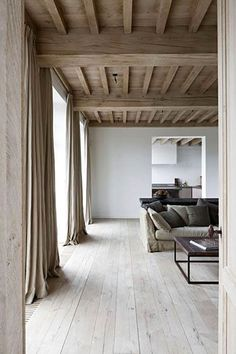 "I love the color of the floor, less ""reclaimed"" looking. I like the wood finish on the ceiling with the floor, but just a shade or two lighter."