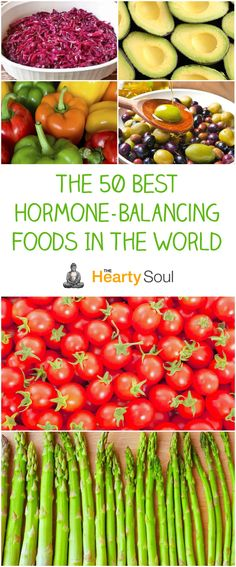 The 50 Best Hormone-Balancing Foods In The World More