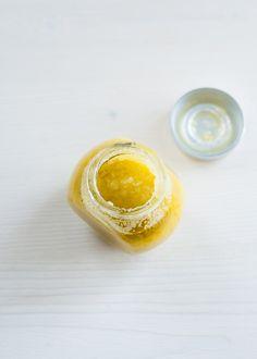 Sea salt hand scrub + cuticle balm | HelloNatural.co