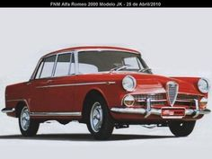 FNM Alfa Romeo 2000 JK - Brasil