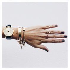 ||•Bracelet - @themaniamania @bycharlotte_ / Rings @riverisland / Watch @komono / Hand @_ashtagram_ / All product avail @theiconicau