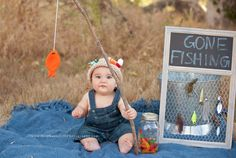 baby fishing session, fisherman photo session, fathers day gift ideas, baby fishing props