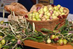 Cesto con olive