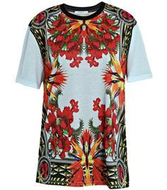 #Matchesfashion    Bird Of Paradise Top by Givenchy