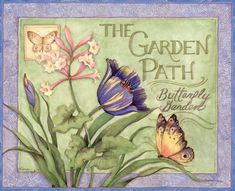 Lang April 2014: Cottage Garden