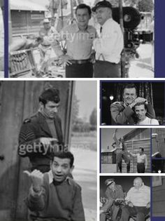 a collage of Hogan's Heroes photos...:)