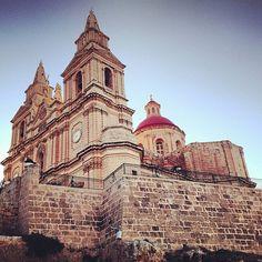 Thanks to @unnilill for sharing this stunning image of Mellieha Church! #malta #travel │ #VisitMalta visitmalta.com