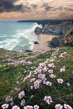 Bedruthan Steps North Cornwall.     da Ray Bradshaw.