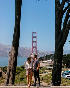 San Francisco, California. What to do in San Francisco. The Best Photo Spots in San Francisco. Best Places to Take Pictures in San Francisco. Kirby Cove, San Francisco Travel Guide, California Travel Guide, Place To Shoot, Us Travel, Luxury Travel, Best Cities, How To Take Photos, Pretty Pictures