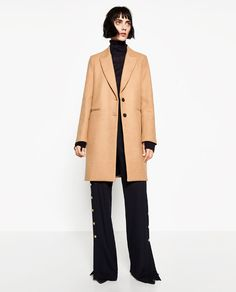 Image 1 of MASCULINE COAT from Zara