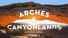 This timelapse of #Arches and Canyonlands National Parks is insanely rad - Roadtrippers #utah