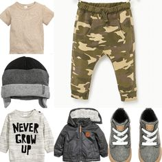 Baby boy autumn outfit idea H&M and Zara 2016
