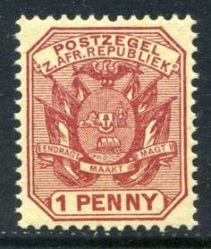 Stamp: Wagon with Two Shafts (South Africa - States and Colonies) (South African Republic) Mi:ZA-TV 201 South Africa States, Union Of South Africa, South Afrika, Chapter 3, African History, Afrikaans, Stamp Collecting, Fountain Pens, Postage Stamps