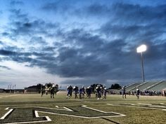 @WaxahachieNews Dallas Anarchy football at Lumpkins Stadium tonight. pic.twitter.com/TlaL4RgVIn