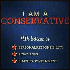 Conservative Pin brought to you by New America: Dedicated to promoting conservative candidates and causes through media and technology! http://www.newam.org