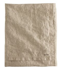 washed linen tablecloth| H GB