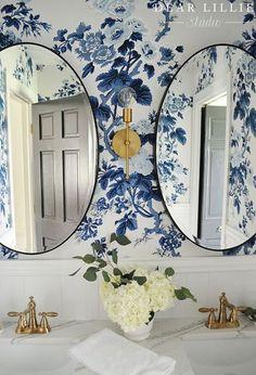 Blanco Interiores: ...e nos tecidos em papeis de parede?!