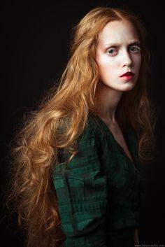 gorgeous red haired  by Ekaterina Grigorieva, via 500px