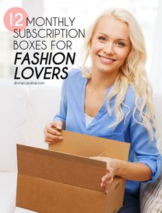 Take your online shopping habits to the next level with monthly subscription boxes! We've rounded up the best fashion boxes for every type of girl! #shopping #subscriptionboxes