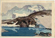 """vjeranski: """" Hiroshi Yoshida (1876-1950) The Breithorn"""" """""""