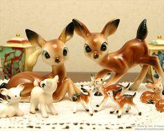 I want more cute kitschy deer!