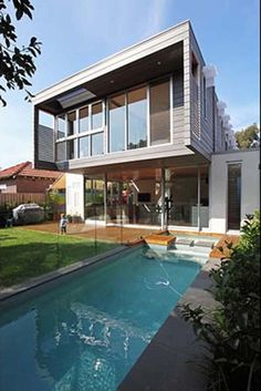 Amazing Interior Decorating Ideas Modern Family Home Design Outdoor Swimming Pool