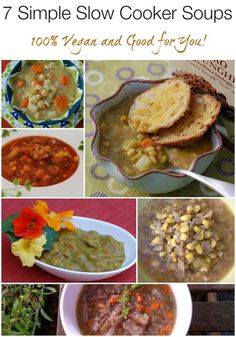 7 Simple Slow Cooker Soups from HealthySlowCooking.com