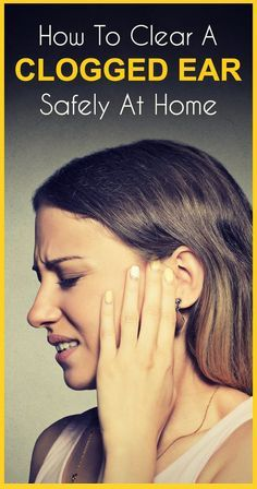 How To Unblock Clogged Ears Naturally – 8 Effective Home Remedies Plugged ear? Do you feel a 'ringing' sensation in your ear? Does your ear pain as well? Then it might be due to ear congestion. Here are home remedies for ear congestion that are simple yet Top 10 Home Remedies, Cold Home Remedies, Natural Health Remedies, Herbal Remedies, Ear Pain Remedies, Home Remedies For Congestion, Holistic Remedies, Ear Blockage Remedies, Ear Congestion Relief